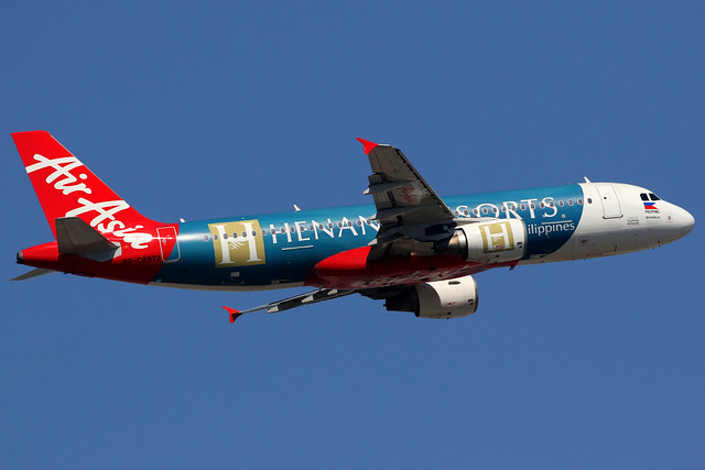 AirAsia Zest | Airbus A320-200 | RP-C8972 | Henann Resorts livery | Hong Kong International