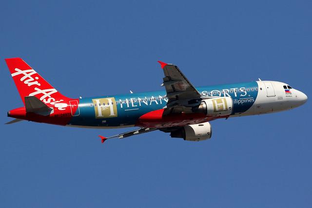 AirAsia Zest | Airbus A320-200 | RP-C8972 | Henann Resorts livery | Hong Kong International