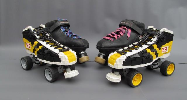 1:1 Lego Roller Skates