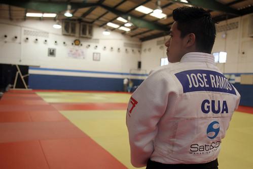 José Ramos, judoca con opción de clasificar a Rio 2016