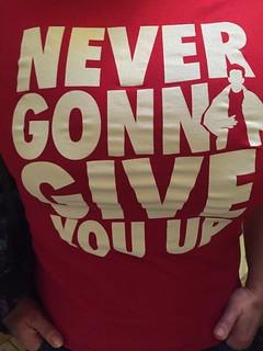 Got a t-shirt...