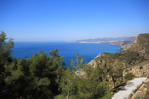La costa de Málaga