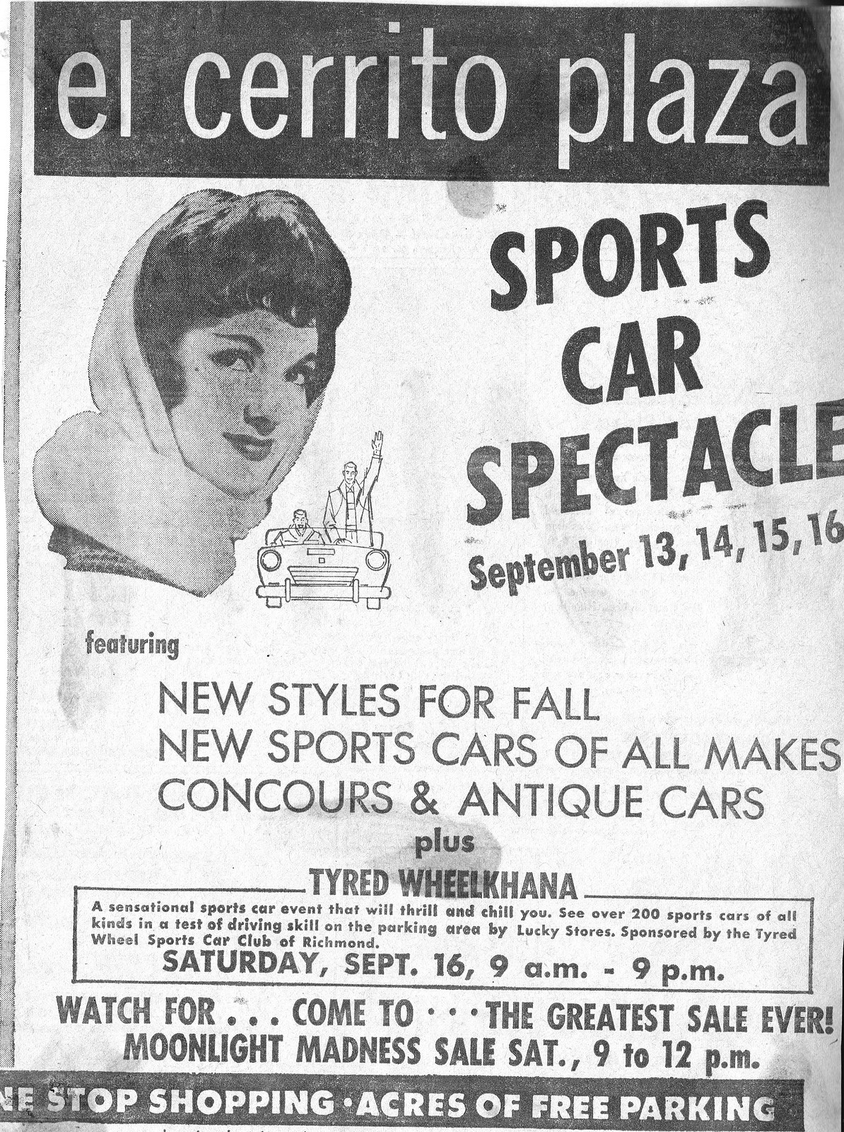 ec plaza sports car spectacle 1961a