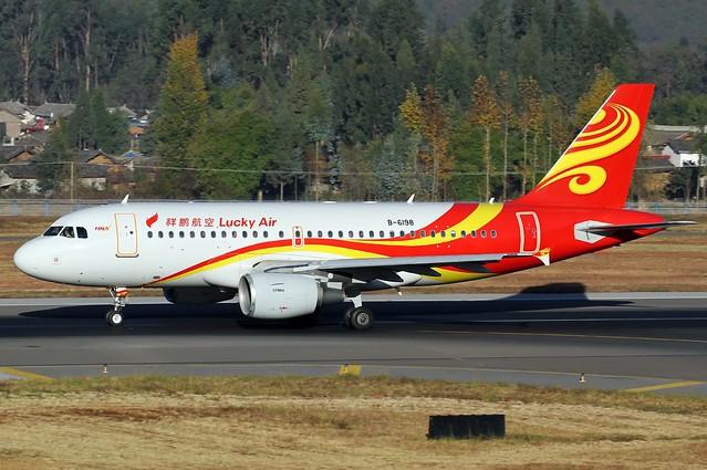 A.319-112 C.n 2617 'B-6198' Lucky Air