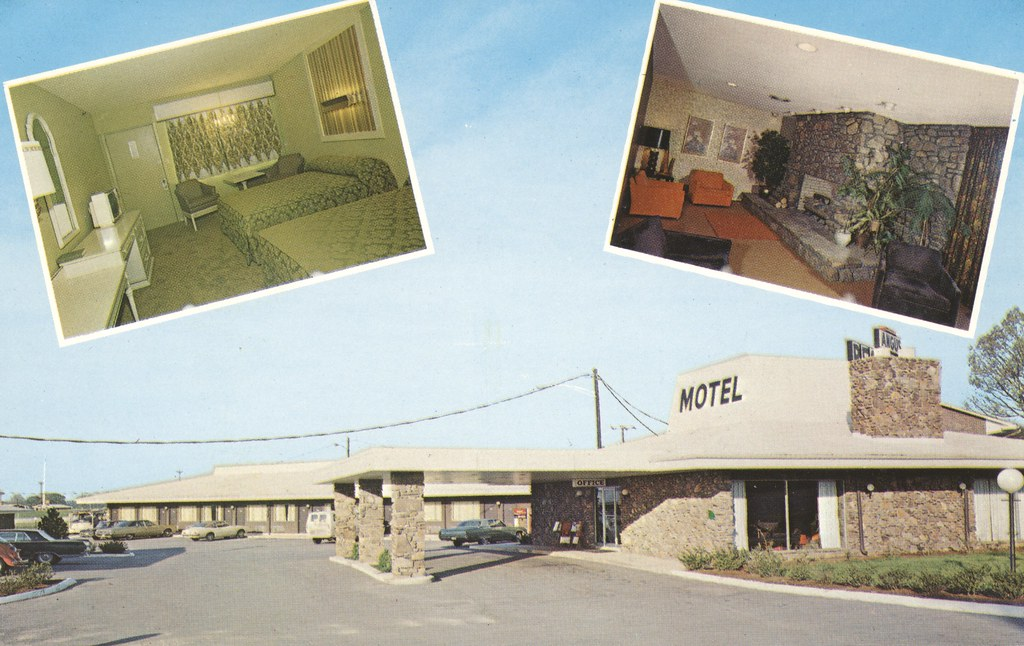 the cardboard america motel postcard archive. Black Bedroom Furniture Sets. Home Design Ideas