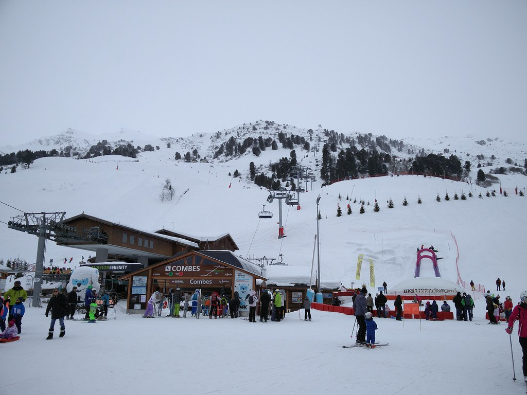 View of the Combes chairlift