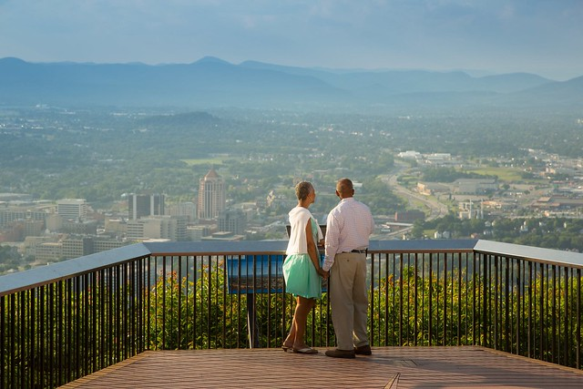 Scenic Roanoke Overlook
