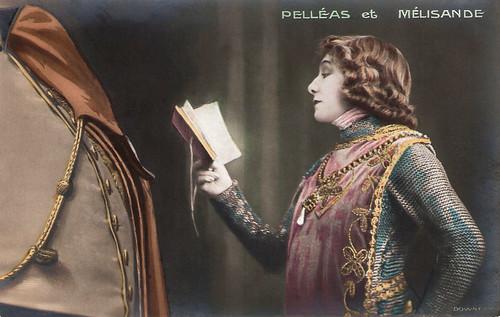Sarah Bernhardt in Pelléas et Mélisande