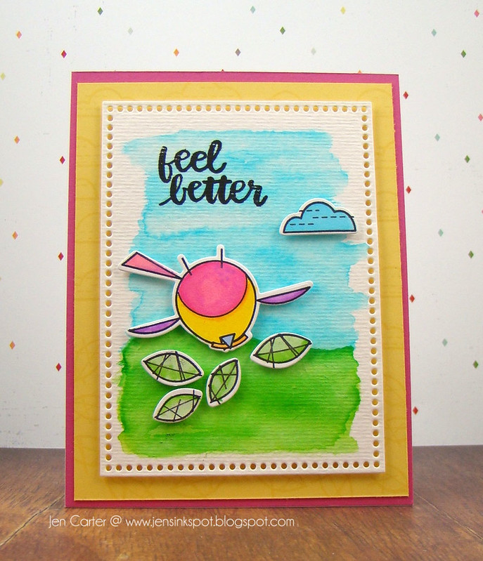 Jen Carter Happy Bird Feel Better Front