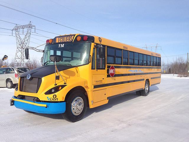 Autobus Scolaire Électrique