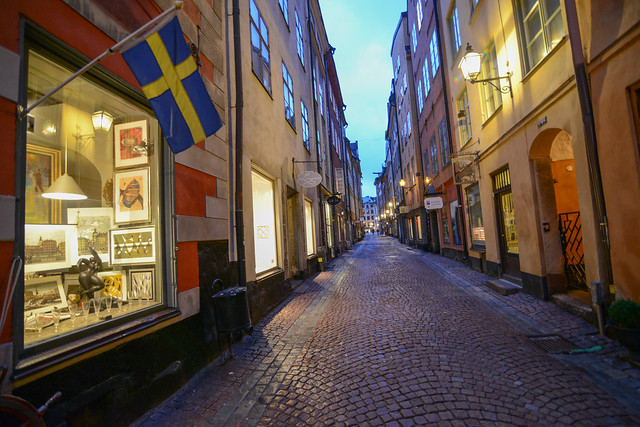 Cobbled street - Gamla stan