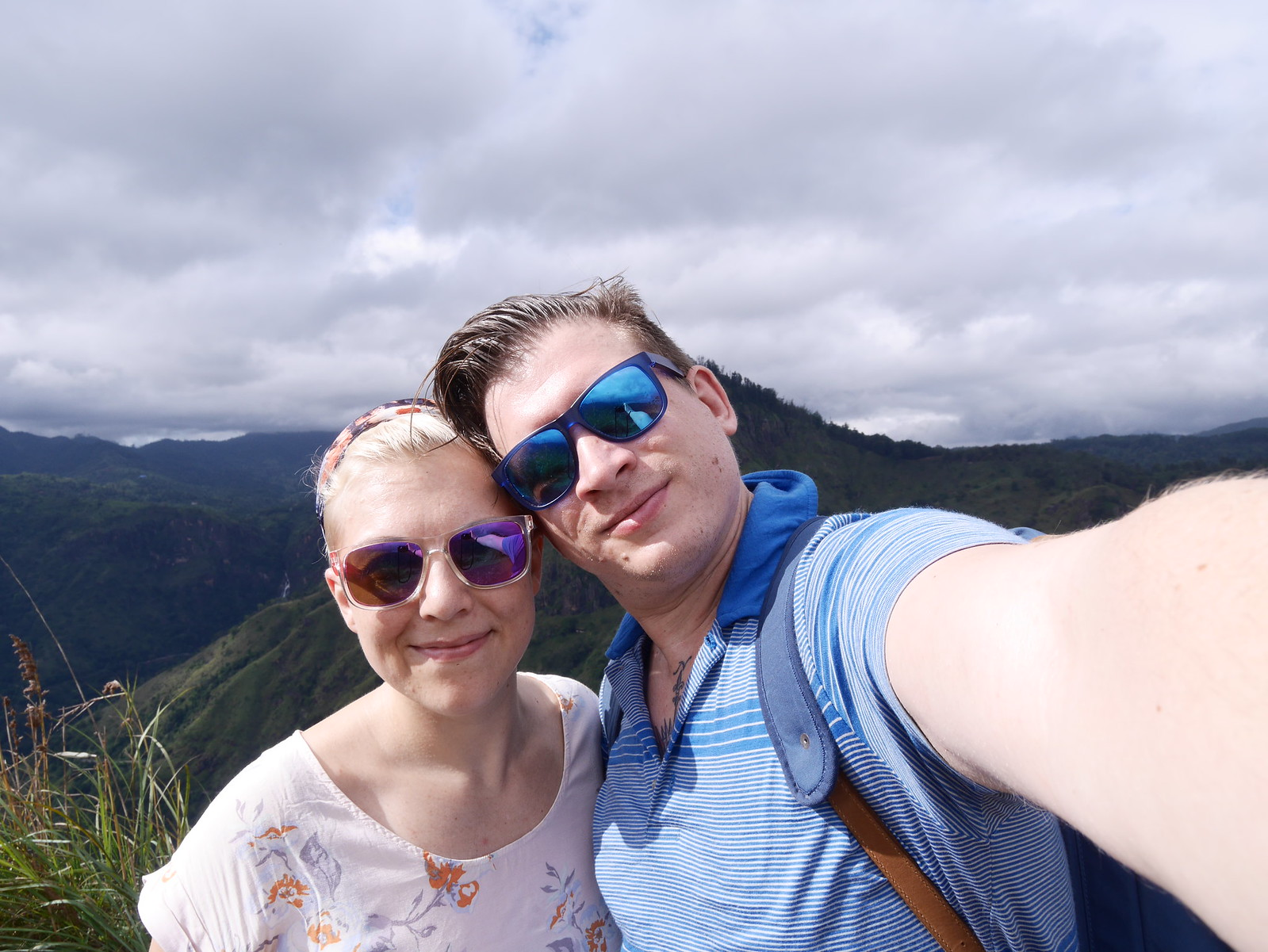 Selfie (Little Adam's Peak, Sri Lanka)