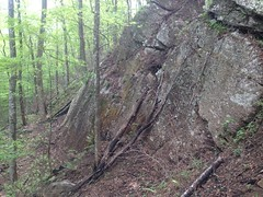 Rock Formations on Dover Creek Rail