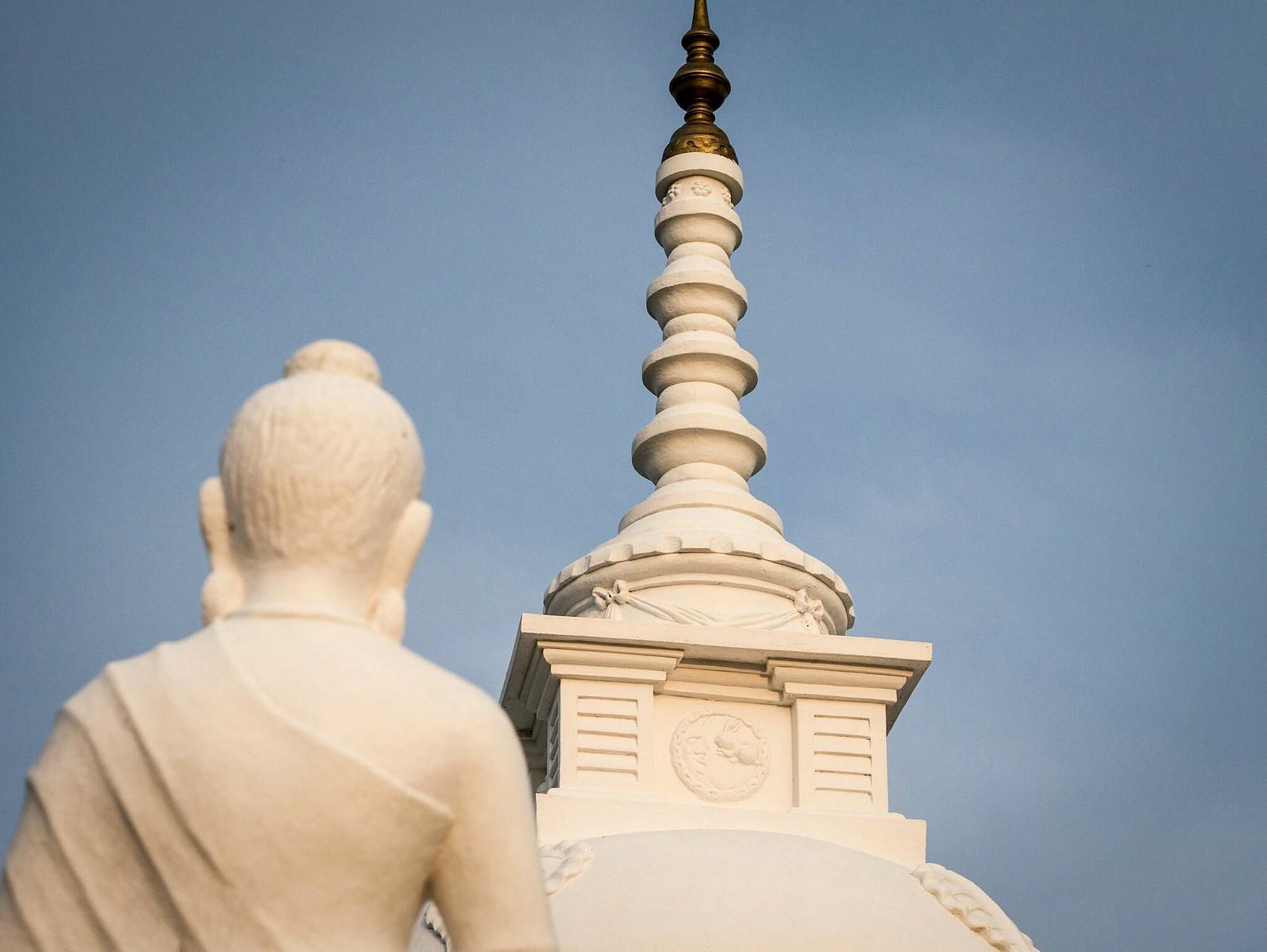 Buddha Looks Up (Kirinda Viharaya, Sei Lanka)