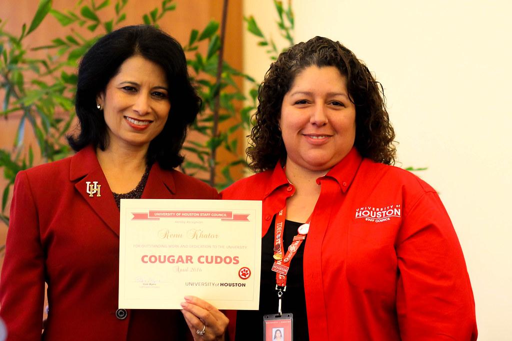 Cougar Cudos Awardees