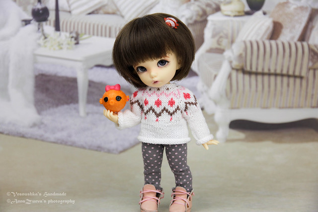 Sweater for pukifee /tiny