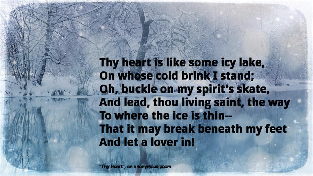 thy heart