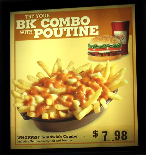BK Combo with Poutine | by colros