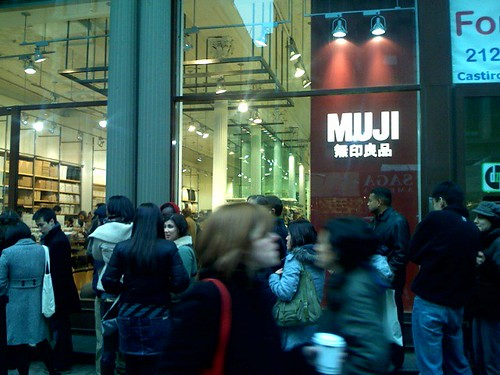 Muji weekend opening | by diametrik