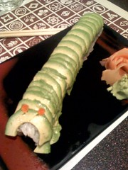 green caterpillar roll | by hillary h