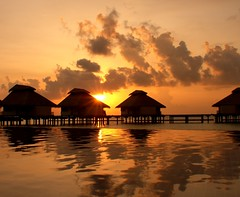 Sunset time in Ellaidhoo isl. MALDIVE | by Lucio Sassi Photography travel