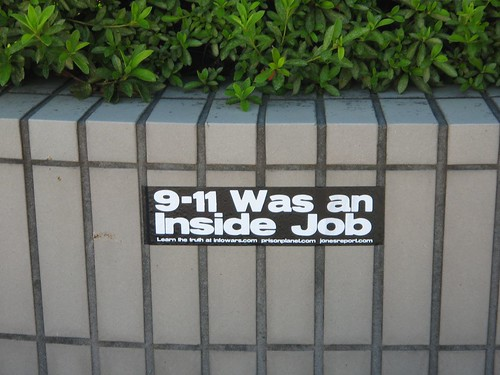 9-11 Was an Inside Job Sticker | by 911conspiracy
