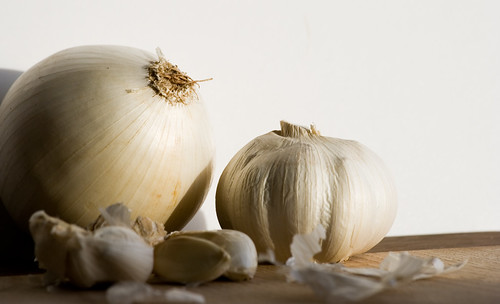White onion and garlic 2 | by Jakob E