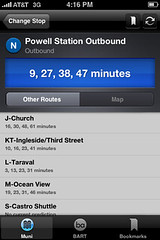 Multiple Incoming Times per stop... | by the N Judah chronicles