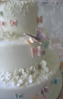buttefly wedding cake | by o´holysweet!
