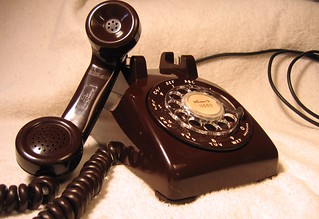 1955 Mahogany (Brown) Rotary Dial Phone | by Mr 500