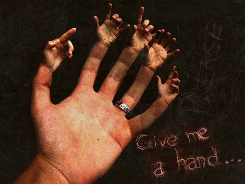Give me a hand... | by tiagogmc
