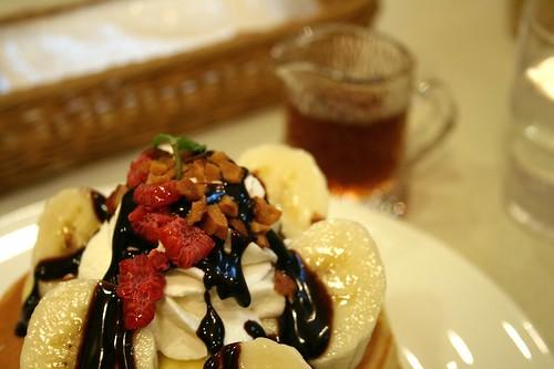 Banana Maple And Pecan Cake