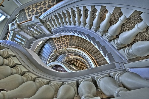Museum staircase 02 | by MikeAncient