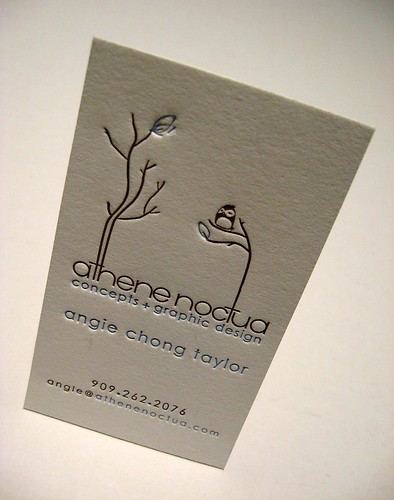 Letterpress Business Cards | by dolcepress