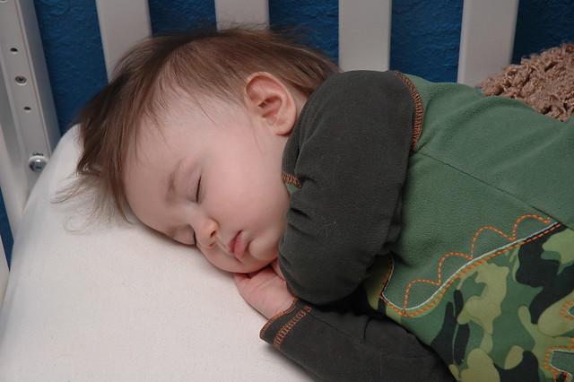 Delanie Sleeping