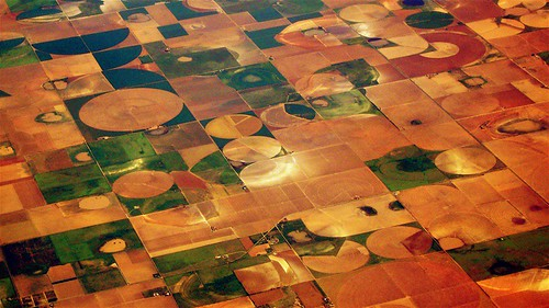 Crops, Above The Great Plains, USA | by drhundertwasser