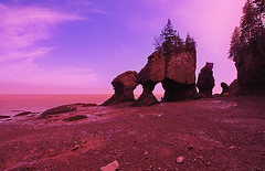 Hopewell Rocks - Bay of Fundy, New Brunswick | by YYZDez @clicklikeamonkey.com