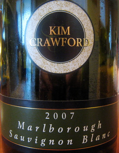 Kim Crawford 2007 Sauvignon Blanc front | by 2 Guys Uncorked
