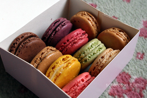 A box of colorful Laduree macarons | by MsAdventuresinItaly