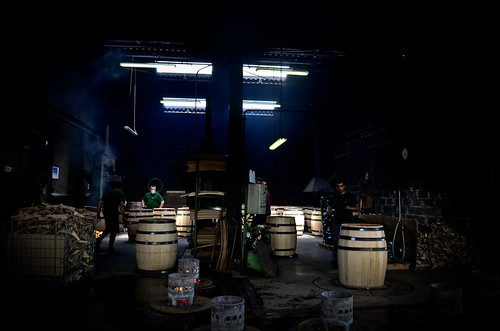 Cooperage. St Romain. Burgundy 2011 | by The Hungry Cyclist