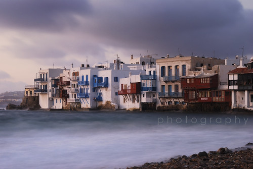 Storm at Little Venice, Mykonos | by scott photos