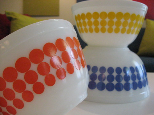 Pyrex New Dots! | by elevator_lady