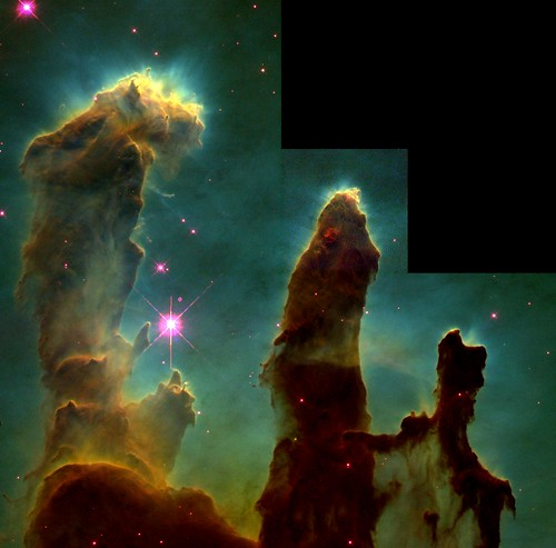 Eagle Nebula Details: Pillars of Creation | by One Cool Cat
