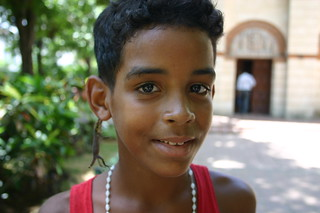 Kid with lizard earring | by rikomatic