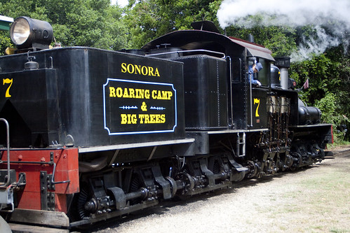 Roaring Camp & Big Trees RR | by I Love Badger Dogs!