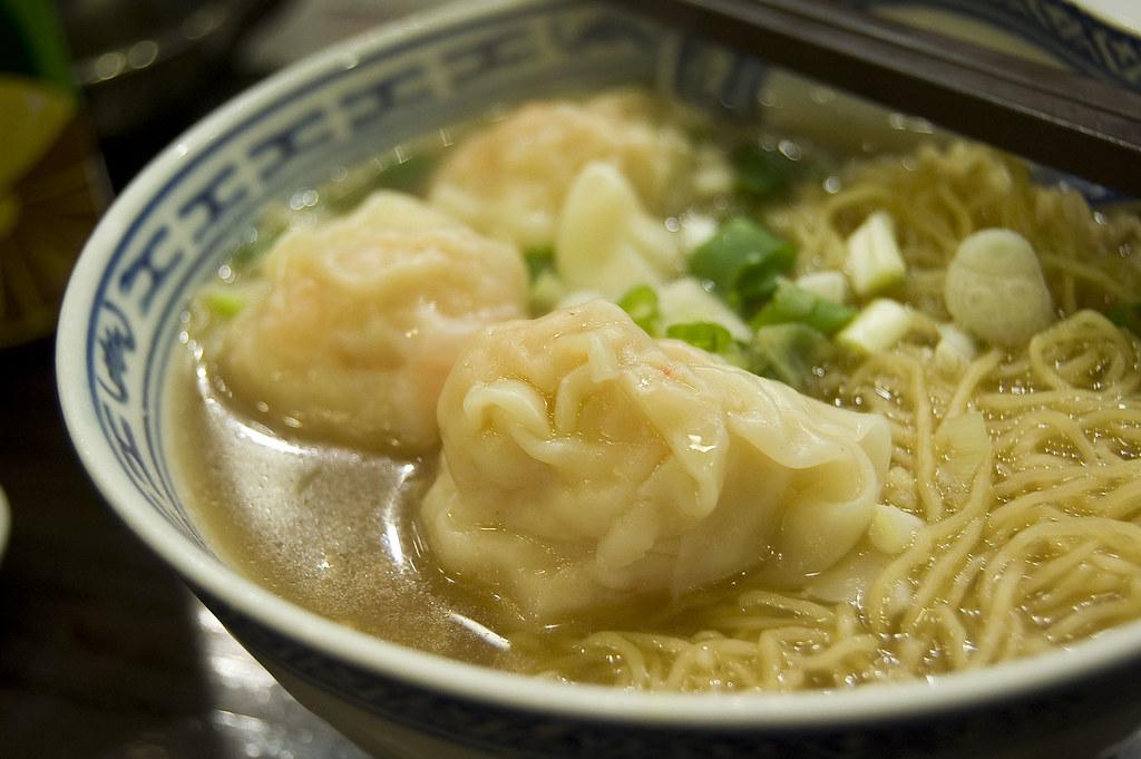 Wonton Noodles at Tsim Chai Kee. Image: Chee Hong, CC.