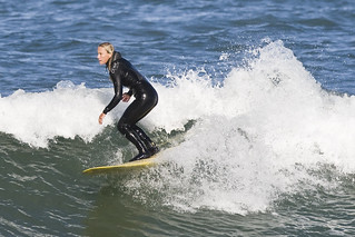 Marie or Marcie - braided-girl-surf-morro-bay_0947 | by mikebaird