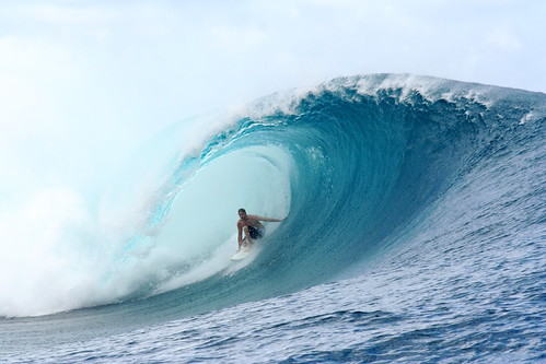 Big Wave Surfing Teahupoo Tahiti | by Duncan Rawlinson - Duncan.co - @thelastminute