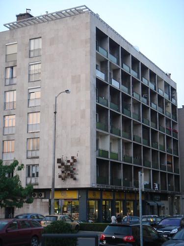 Post War Modern Apartment In Buda Pest Post War