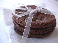 Double chocolate cookies / Cookies de chocolate ao leite | by Patricia Scarpin